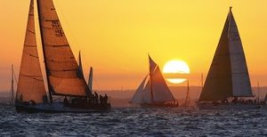 Sailing - JP Morgan Asset Management Round the Island Race - Cowes