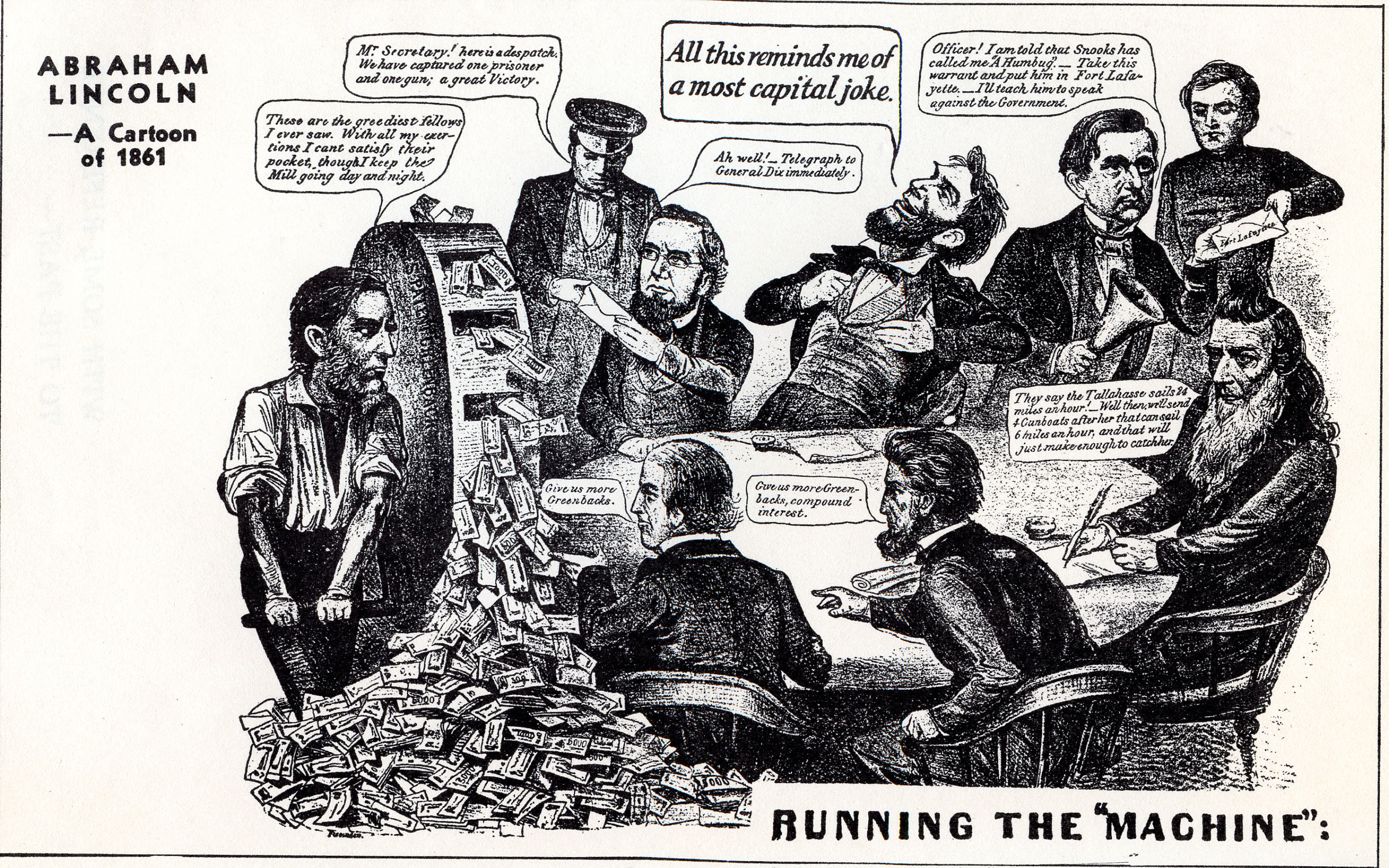 Abe Lincoln Cartoon Gospelbbq