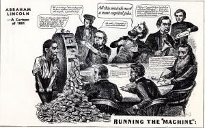 Abe Lincoln cartoon