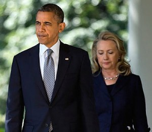 Barry and Hillary photo